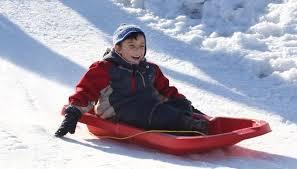 sledding