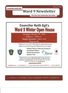 Ward 9 Open House