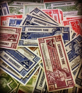 Canadian Tire Money